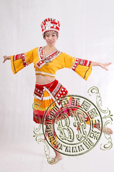 苗族姑娘 苗族服装_傣族苗族彝族_服装展示_北京舞蹈