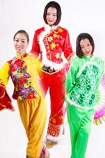 汉族秧歌服装