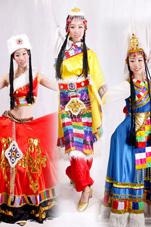 藏族民族服装
