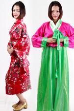 日韩民族服装