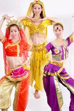 印度肚皮舞蹈服装