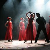 西班牙舞蹈服装