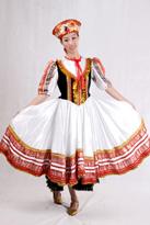 黑马甲俄罗斯舞蹈服装
