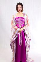 紫色唐装0753