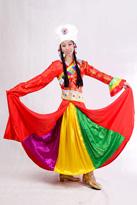 溜溜康定藏族服装