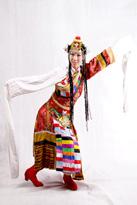 锦上添花藏族服装