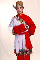 藏族红白男士