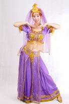 情迷紫色印度舞
