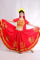 红印度印度服装