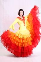 国色天香 西班牙舞裙