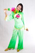 一朵牡丹 汉族服装