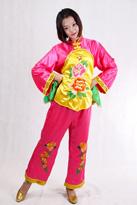 粉黄花 汉族服装