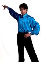 蓝王子衫 现代舞
