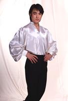 白王子衫 现代舞服装