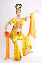 黄飞天 古典舞蹈服装