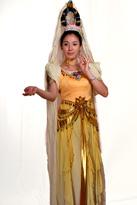 观音菩萨 古典舞蹈服