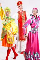 蒙古民族服装