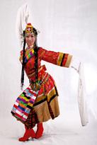 织锦藏族服装