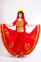 红新疆 新疆舞蹈服装