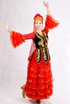 哈萨克 新疆舞蹈服装