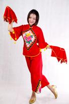 黄毛球 汉族舞蹈服装