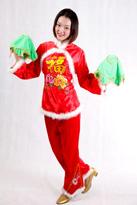 吉祥送福 汉族舞蹈服
