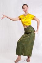 黄半袖 傣族舞蹈演出