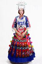 彝族盛装 演出服装