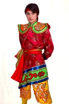 紫色男款 蒙古舞蹈服