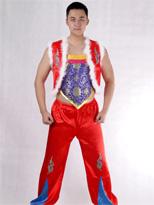 新款无袖 汉族舞蹈服