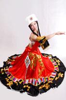 藏族红裙装 演出舞蹈