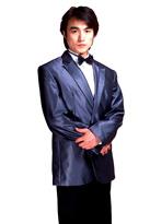 男士独唱服主持服装
