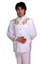 绣金龙独唱服主持服装