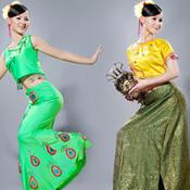 民族舞蹈服装客片