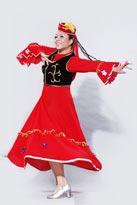 简约大方新疆舞蹈服