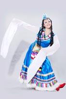 藏族情歌民族服装