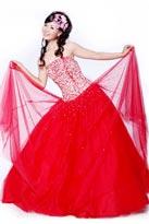 红色青春-晚礼服