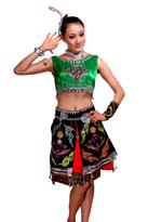 土家族民族舞蹈服装