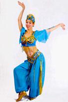 蓝飞天 印度服装