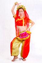 异域风采印度服装