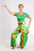 彩色印度服装