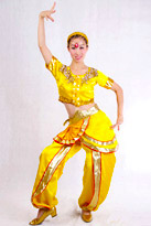 彩色印度舞服装