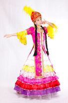 哈萨克 新疆服装