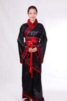 黑红 汉朝服装