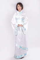 白色汉服 朝代服装