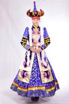蒙古盛装舞蹈服装