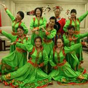 蒙古顶碗舞演出