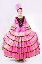 粉色伴舞裙