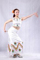 女士傣族舞蹈服装