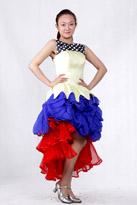女士现代舞服装026